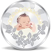 ACPL Precious Moments New-Born Baby Event Gift Silver Coin 999 Pure