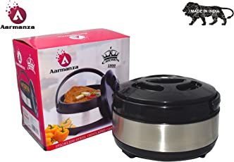 Crown 1800 Hot-Pot Insulated Casserole Food Warmer Capacity 1200 ml from AARMANZA