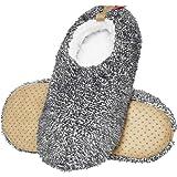 soxo Pantofole Peluche Pelliccia da Uomo   Misura 41-42   Ciabatte da Casa Comode e Morbide   Suola Elastica Antiscivolo   2