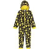 Pokèmon Pijama Niño de Una Pieza, Pijama Pikachu para Niños, Pijamas Enteros de Forro Polar con Capucha, Regalos Originales p