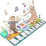 Ballery Tapis de Piano Musical, Tapis Musical Enfant Piano Tapis de Danse pour Enfants, Piano Tapis Enfants, Early Education