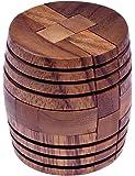 Barrel - Fass - 3D Puzzle - Denkspiel - Knobelspiel - Geduldspiel - Logikspiel aus Holz