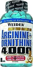Weider, Arginine+Ornithine 4000, 1er Pack (1x 180 Kapseln)