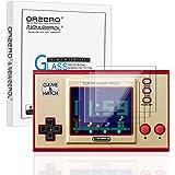 NEWZEROL 4-pack för Nintendo Game & Watch skärmskydd 2,5D bågkant [inga bubblor] [anti repa] 9 hårdhet högdefinierat härdat g