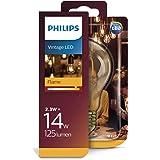 Philips ampoule LED Standard Vintage Filament Spirale E27 23W Equivalent 14W Ambrée Claire Blanc chaud