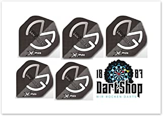 Michael Van Gerwen Dart Flights - 5 Sets = 15 Stück + 1 GRATIS DartShop1887 Flight-Set
