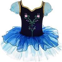 Lito Angels Princess Anna Ballerina Dance Costume for Kids Girls, Frozen Ballet Tutu Dress Fancy Dancewear, Age 2-7…
