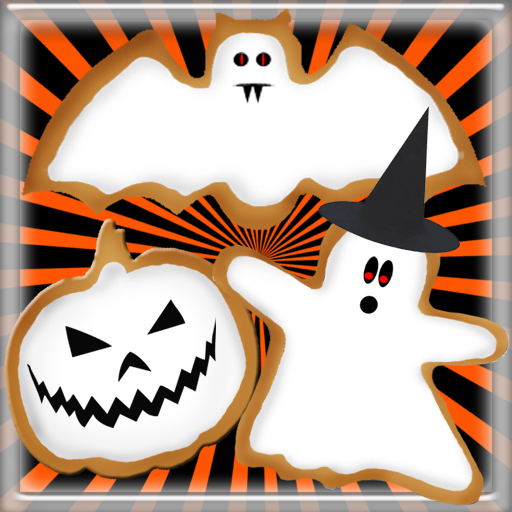 Spooky Halloween Cookie - Fun Free Cooking Game for Kids and - Halloween Frosting Cupcakes Für