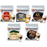 Tassimo Café Latte Macchiato Selección - Baileys/Gevalia/L'OR Latte Macchiato/Coffeeshop Selection Toffee-Nut Latte/Jacobs La