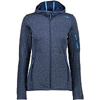 CMP Lightweight Knitted Fleece Jacket With Mesh Fleece Jacket Donna