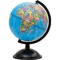 Idena 569906 - Schülerglobus 18 cm mit politischem Kartenbild