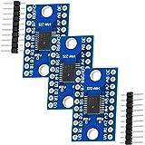 AZDelivery 3 x TXS0108E Logic Level Converter 8 kanaler kompatibel med Raspberry Pi och andra mikrokontroller med E-bok!