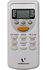 Remote Control Videocon Split Ac Remote Controller