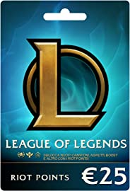 League of Legends €25 Buono regalo prepagato (3500 Riot Points)