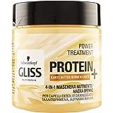 Gliss - Mascarilla Proteína 4 en 1 Manteca de Cacao, Proteína ...