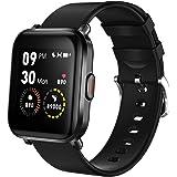 LIFEBEE Smartwatch, Fitness zegarek na rękę z pulsometrem, zegarek sportowy, 18 trybów sportowych, Smart Watch (czarny)