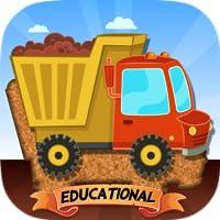 Coche, camiones y vehículos de construcción para niños Puzles para bebés - edición escolar