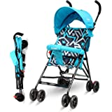 Little Pumpkin - Baby Stroller and pram for Baby - Buggy for Kids (Blue)