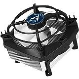 ARCTIC Alpine 11 Pro : Refroidisseur d'UC Silencieux, Système Anti-Vibration, Compatibilité Intel, Ventilateur PWM, jusqu'à 95 Watt, Composé Thermique MX-2 Pré-appliqué - 92 mm