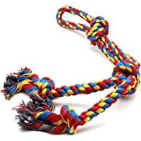 PSK PET MART Chew Rope Toys for Aggressive Chewers Rope Chew Toys for Large Medium Dogs Indestructible Tug of War Durable% Rope Toy