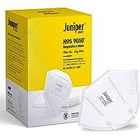 Juniper N95 Face Mask 9050 Respirator – White – Antiviral & Antibacterial – Filtration efficiency > 95% (PM 2.5…