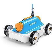 vidaXL Poolroboter Poolreiniger Kabellos Pool Bodensauger Sauger Reiniger Roboter Schwimmbadreiniger Bodenreiniger Poolsauger Poolrunner 27W