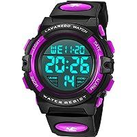 Orologi per bambini, ragazzi, ragazzi e adolescenti digitale, orologio sportivo multifunzione, impermeabile, digitale…