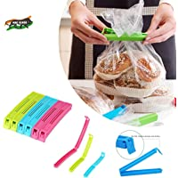 VR 18 Pcs - 3 Different Size Plastic Food Snack Bag Pouch Clip Sealer Large, Medium, Small Plastic Snack Seal Sealing…
