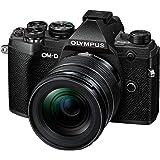 Olympus OM-D E-M5 Mark III Micro Four Thirds systemkamera kit, 20 MP sensor, 5-axlig bildstabilisator, kraftfull autofokus, 4