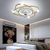 YUNZI Ventilateur Plafond avec Lumiere Et Telecommand, Ventilateur Silencieux Plafond 30M2, Plafonnier Ventilateur…