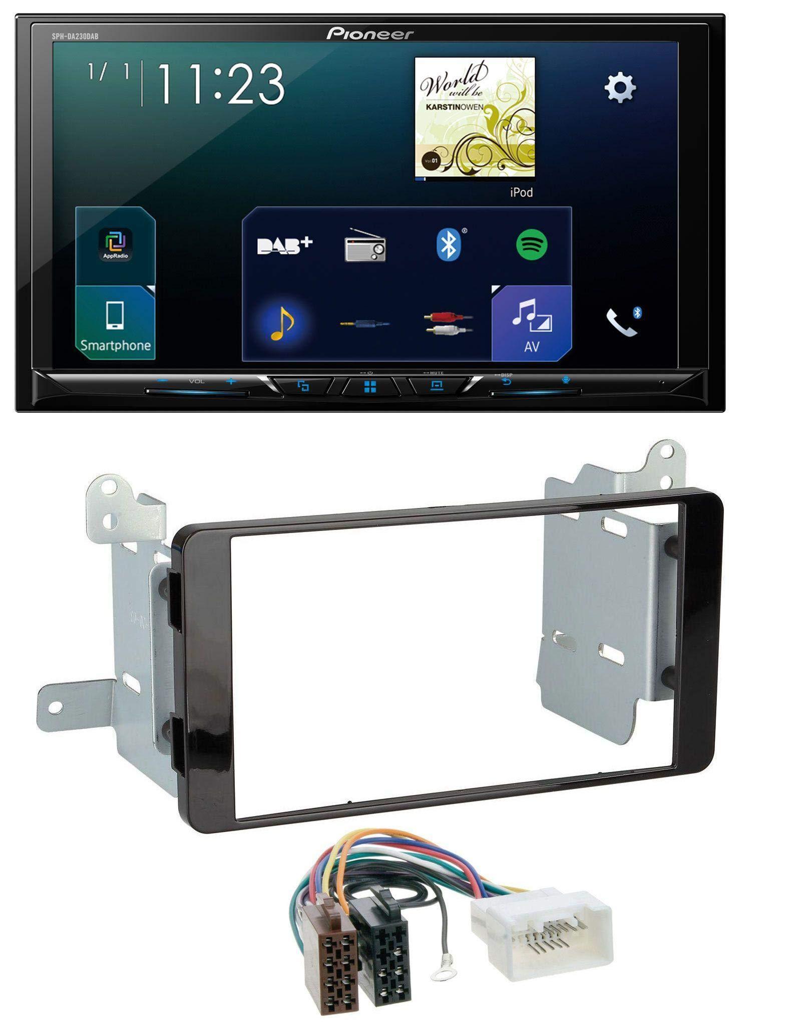 caraudio24-Pioneer-SPH-DA230DAB-MP3-Bluetooth-USB-2DIN-DAB-Autoradio-fr-Mitsubishi-L200-ab-2015