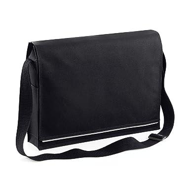 Plain Conference Messenger Bag by BagBase: Amazon.co.uk: Clothing