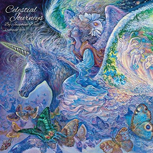 d6799b1802 Celestial Journeys by Josephine Wall - Wall Calendar 2019 (Art Calendar)