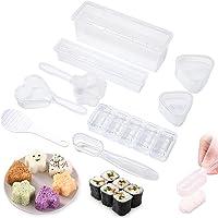 yumcute Sushi Maker Kit 9 PCS Moules à Sushi Kit Lot de 9 moules japonais pour sushis Sushi Cuisine Bricolage Facile…