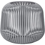 Blomus - Lantaarn - Windlicht - Steel Gray - Small - Afmetingen (ØxH): 20,5 x 17 cm