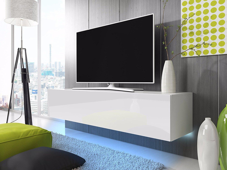 Lana Meuble Tv Suspendu Table Basse Tv Banc Tv De Salon 160