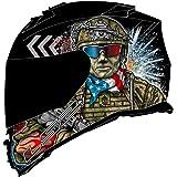 LS2 Helmets Assault Full Face Motorcycle Helmet W/SunShield