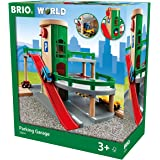 BRIO World Parking Garage for Kids Age 3 Years Up - Compatible with all BRIO Railway Sets & Accessories