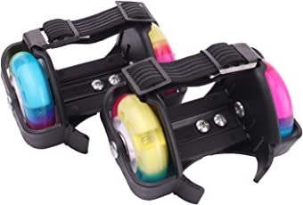 Strauss Flashing Street Roller 2 Wheels, (Multi Color)
