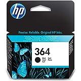HP CB316EE 364 Original Ink Cartridge, Black, Single Pack