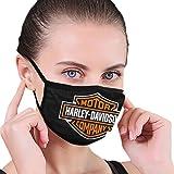 Harley Davidson senza cuciture antipolvere lavabile sciarpa sciarpa riutilizzabile