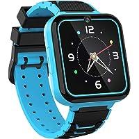 Smartwatch per Bambini con Gioco - Touchscreen HD Ragazzi Smart Watch con Giochi Lettore Musicale Torcia Chiama SOS…