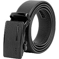 Zacharias Men's Faux Leather Belt Autolock Buckle