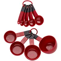 KitchenAid Measuring Cups and Spoons Set  Red  by KitchenAid
