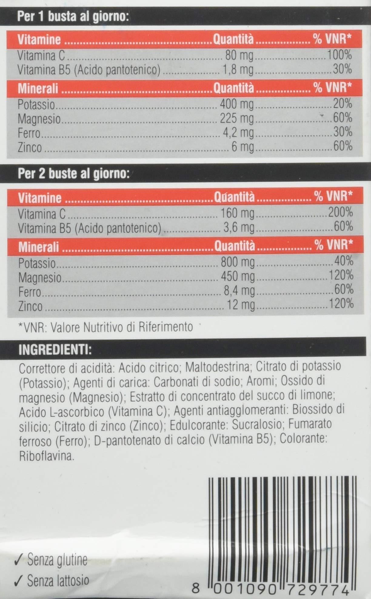 Swisse Magnesio e Potassio Forte, Integrazione di Sali minerali, 24 Bustine 5 spesavip