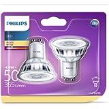 Philips LED Classic, 50W, GU10 WW, 36D ND 2BC/6