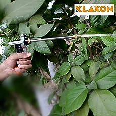 Klaxon Water Spray Gun | Brass Long Nozzle Water Spray Gun - Car / Bike / Plant / Gardening Wash