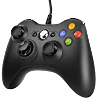 JAMSWALL Manette Xbox 360 - Manette PC Joystick pour Xbox 360 et Windows 7/8/10 Connection USB - Design Ergonomique…