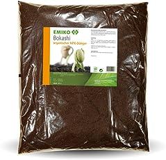 EMIKO® Bokashi organischer NPK-Dünger 10L mit EM Effektiven Mikroorganismen zum Humusaufbau