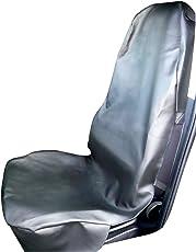 Sitzauflage Werkstattschoner Kunstleder schwarz Autositzbezug Schonbezug Marke R&M Style